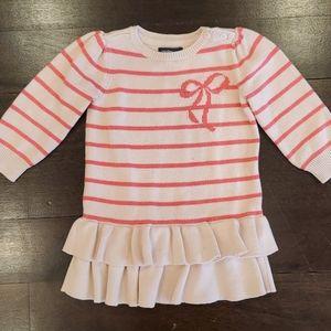 GIRL'S BABY GAP PINK SHIRT DRESS